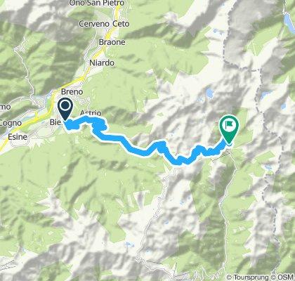 Bergamasker Alpen 2013/Tour 2: Bienno - Croce Domini - Goletto di Cadino - Galver u. retour