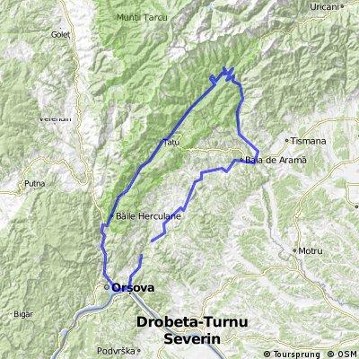 Ciresu-Izbucu Cernei-Herculane-Bahna