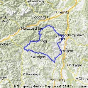 Aspang-St Corona-Feistritz Sattel-Mönichkirchen-Aspang