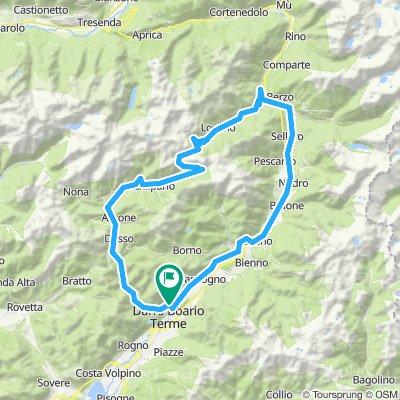 Bergamasker Alpen 2013/Tour 1: Boario Terme - Passo del Vivione - Val Camonica