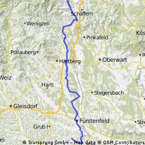 2013.08.03 Omiš 2 Monichkirchen - Magland Eurovelo 9