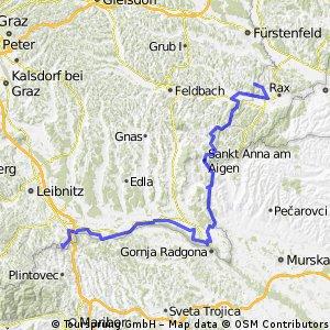 2013.08.04 Omiš 3 Magland - Spielfield Eurovelo 9