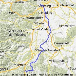 Wien 1230 - Pittental