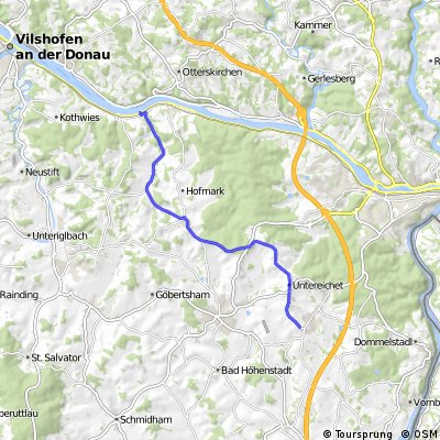 Neukirchen (Inn) to Passau via Sandbach Part 1 of 2