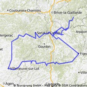 Dordogne Lot 2013