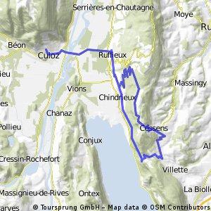 Culoz-Col Chambotte