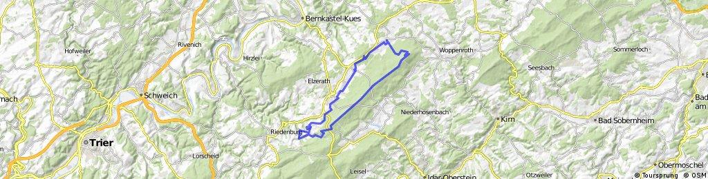 MTB - Bdhron - Idarkopf - Steingerüttelkopf - Usarkopf - Cornely Mühle - Hoxel - Bdhron