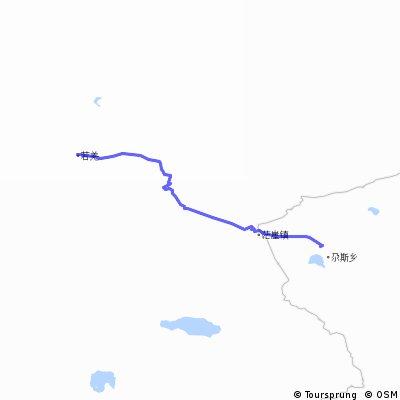 【チャルクリクルート3】花土沟鎮 to チャルクリク 676km