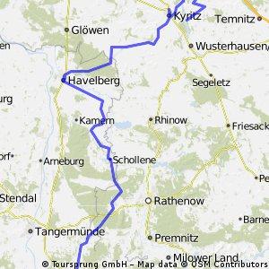 434. Land Schollene, Havelpolderflutungsfolgen und Bantikow