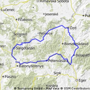 Heves-Borsodi dombság ölelő.