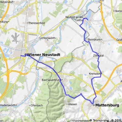 Wr.Neustadt-Wiesen-Mattersburg-Neufeld