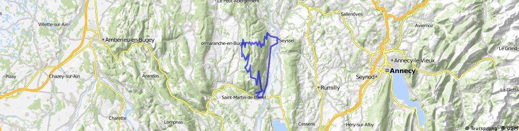 Col de la Colombiere and Col de la Biche