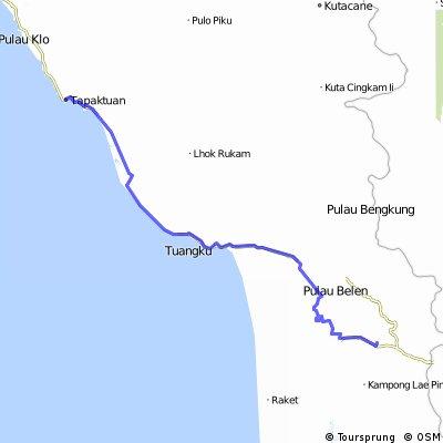 Etape VI  Jelajah Sabang-Padang  # Tapaktuan- Sabulussalam