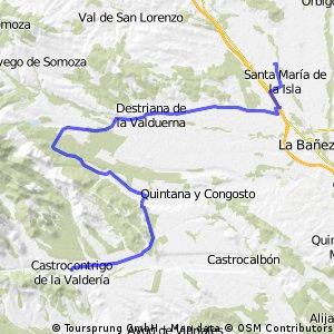 Santibañez de la Isla - Tabuyo - Castrocontrigo