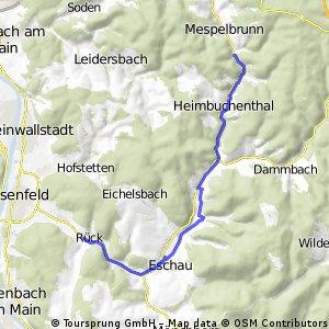 Mespelbrunn - Rück-Schippach