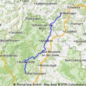 066 Zipfeltour2013 Tag06 Bad Kissingen-Meiningen