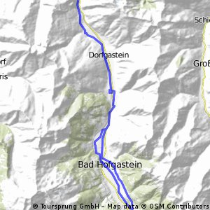 Gasteinertal Rundfahrt bis Hofgastein