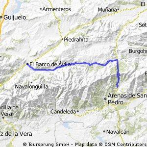 El Barco de Ávila - Mombeltrán
