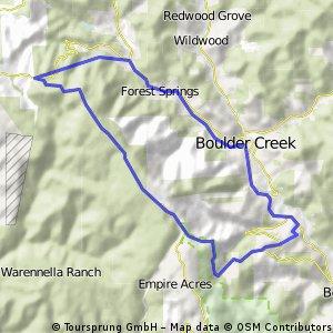 Boulder Creek loop