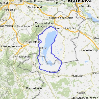 Neusiedlerseerunde/Austria-Magyarország