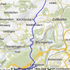 Bern - Betlehem - Bern - Herrenschwanden - Oberlindach - Münchenbuchsee
