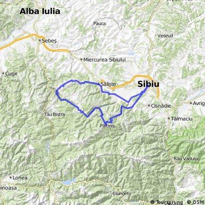 Santa - Cheile Cibinului - Transalpina - Jina - Saliste - Sibiu