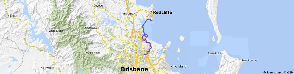 Toombul to Woody Point
