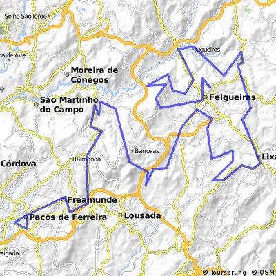 Paços de Ferreira - Felgueiras (Sta Quiteria)
