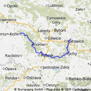 Do Kędzierzyna-Koźla przez południowe rubieże
