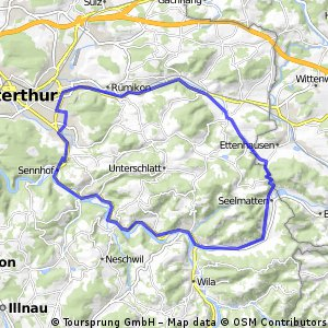 Abend Runde Winterthur