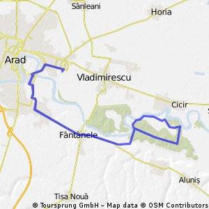 Tura Arad - Padure Frumuseni - Arad