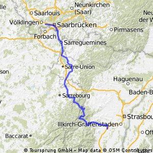 Rückweg Tour de Franz