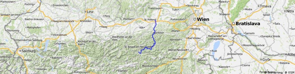 Traisentalradweg Teil 2