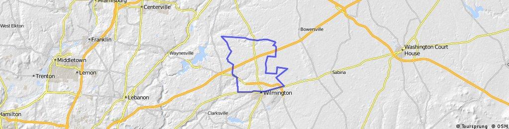Clinton County Barn Quilt Ride - SW Corner