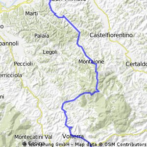 San Miniato - Volterra