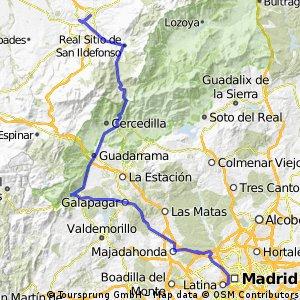 Madrid-Segovia