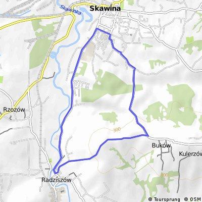 Skawina - radziszów (Wytrzyszczek) - Skawina