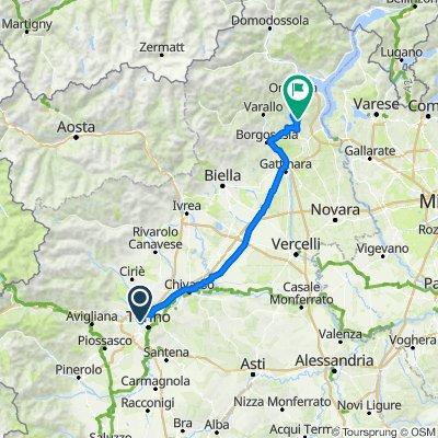 Torino - Foresta Nera:  Giorno 1: Torino - Ameno (Lago d'Orta)