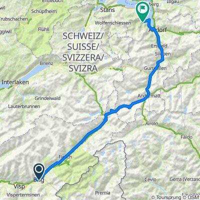 Torino - Foresta Nera: Giorno 3: Brig - Isenthal