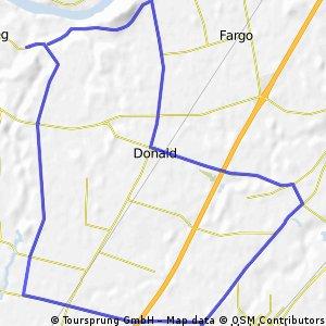 Champoeg-Hubbard-Donald route