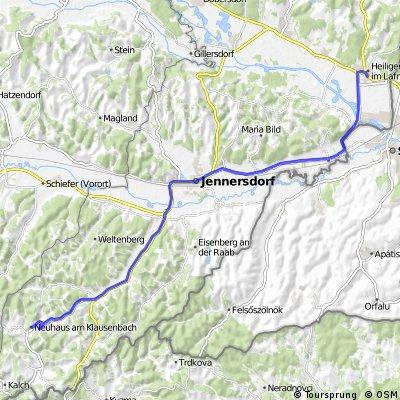 Erste Bank Oberwart E-Bike Tour2