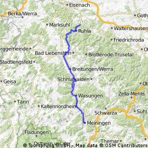 067 Zipfeltour2013 Tag07 Meiningen-Ruhla