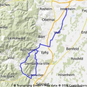 Route 1 Elsass