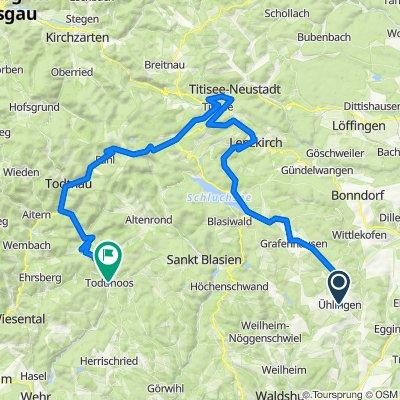 Torino - Foresta Nera: Giorno 5: Ühlingen-Birkendorf - Todtmoos
