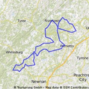 Ed's Bike Route