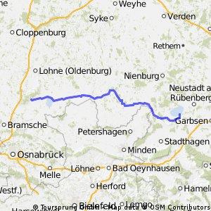 Tour: Damme/ Dümmer -- Steinhude