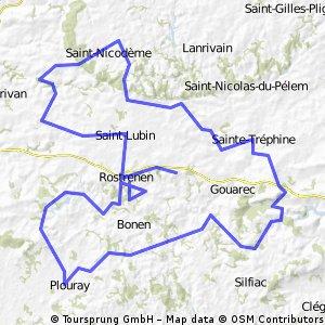4.Plouguernével-Rostrenen