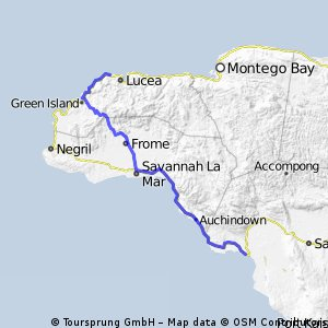 Jamaican Tour - Stage 4: Black River - Lucea