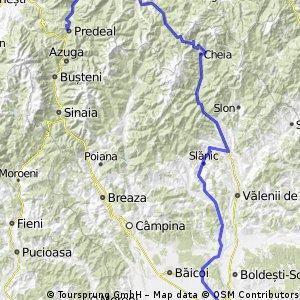 Predeal - Sacele - Cheia - Slanic - Ploiesti