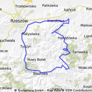 Wysoka-Dylągówka-Błażowa-Hermanowa